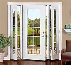 Glass french doors with sidelights
