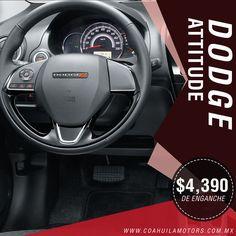 Imponiendo un estilo en la categoria, #DodgeAttitude es el balance perfecto. Adquierelo con enganche desde $ 4,390