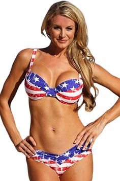 Prix: €12.40 Bikini Stripes And Stars American Girl Two Piece Swimsuit Pas Cher www.modebuy.com @Modebuy #Modebuy #CommeMontre #sexy #me #commentbelow
