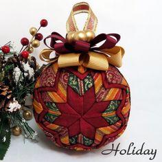 Handmade Ornaments | Quilted Keepsake Ornaments