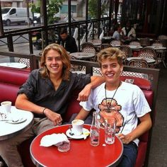 Dylan and Cole Sprouse - I can't get over how much they've changed since I last watched them on Disney…