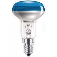 #Halogenlampen #Philips #923346644217   Philips Incand. colored refl. lamp Glühlampe  NR50 E14 Blau klar Matt     Hier klicken, um weiterzulesen.