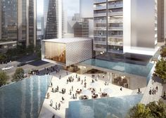 """Ole Scheeren's Vancouver skyscraper will offer a """"new typology for vertical living""""."""