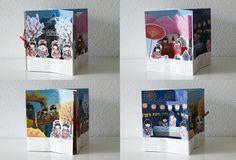 Four seasons Japanese pop-up calendar, so cute!   Flickr - Photo Sharing!