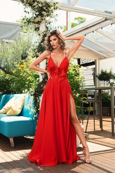 Rochie disponibila deja pe www.bby.ro Formal Dresses, Summer, Red, Fashion, Tea Length Formal Dresses, Moda, Summer Time, Formal Gowns, Fashion Styles