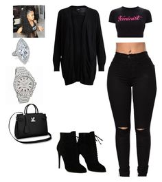 """Minnesota ✈️.  Missing Hubby😪"" by queensamsam ❤ liked on Polyvore featuring Rolex, Object Collectors Item and Tom Ford"