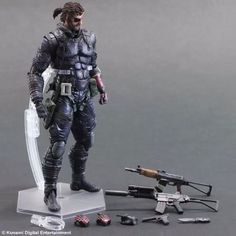117.85$  Watch here - http://alifq0.worldwells.pw/go.php?t=32602108361 - New Square Enix Action Figure Toys METAL GEAR SOLID Snake  V THE PHANTOM PAIN KAI Man On Fire Toys Gift 117.85$