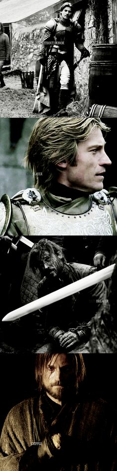 """Jaime. My name is Jaime."" - Jaime Lannister"