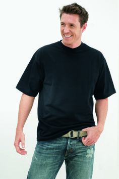 T-Shirt - Kapart - Bonny zwart Mooie kwaliteit 100% katoen