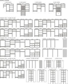 Closet Organizer  Symbols [build yourself a closet. jh]