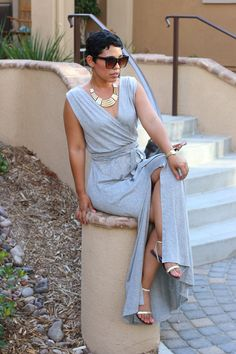 NEW! Front Slit Maxi Tutorial - Mimi G Style
