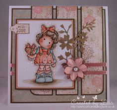 Wishcraft: Tilda with Wrapped Heart - The Stamp Basket DT