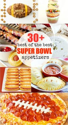 30+ Best of the BEST Super Bowl appetizers! Need something to bring to the super bowl party? This post has you covered.