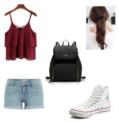 We' re going on a trip by petramucnjak on Polyvore featuring polyvore Mode style Paige Denim Converse fashion clothing