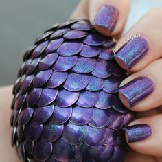 Dragon Eggs: A Tutorial - by Accio Lacquer, made with NAIL POLISH!