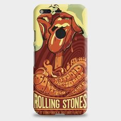 Rolling Stone Poster Art Google Pixel XL Case   casescraft