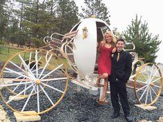 At the Cinderella coach