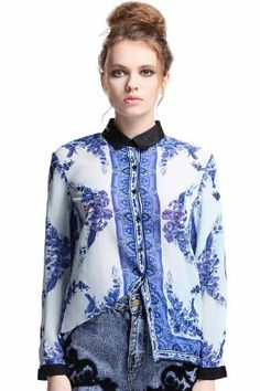 Romwe Women's Blue and White Color Contrast Long Sleeves Blouse-White-L Romwe,http://www.amazon.com/dp/B00EOE4ZZ4/ref=cm_sw_r_pi_dp_kYc.sb0RBWAB55JX