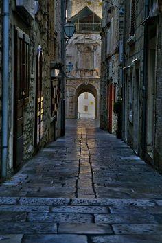 Korcula-Korcula Island-Croatia   Streets of Korcula 1 by CitizenFresh