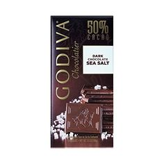 Godiva Dark Chocolate Bar Tablet SS, Ounce (Pack of Godiva Chocolatier, Dark Chocolate Bar, Candy Gifts, Packing, Bag Packaging, Candy Favors