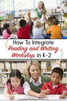 I love the workshop model because it gives K-2 students lots of real reading and writing time—not worksheets. If you'd like to learn more about the reading workshop or writing workshop model, you can watch either (or both!) of my free webinars, linked in this blog post! Kindergarten Writing, Teaching Writing, Writing Activities, Teaching Strategies, Teaching Tips, Readers Workshop, Writer Workshop, Workshop Ideas, Second Grade Writing
