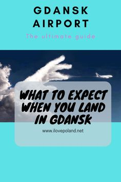 Arriving at Gdansk airport - I Love Poland - Poland's ultimate travel guide Stuff To Do, Things To Do, Gdansk Poland, Ultimate Travel, Travel Guide, Reading, My Love, Things To Make, Word Reading