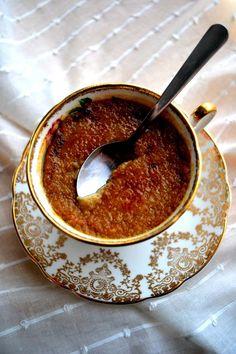 Chai Tea Crème Brûlée