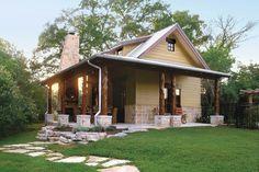 Cabins & Cottages Under 1,000 Square Feet: Cedar Creek Guest House Plan #1450