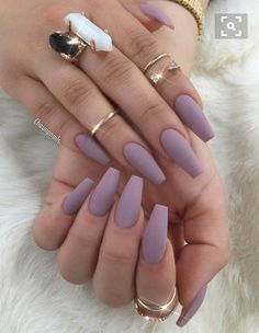 A manicure is a cosmetic elegance therapy for the finger nails and hands. A manicure could deal with just the hands, just the nails, or Solid Color Nails, Nail Colors, One Color Nails, Colours, Cute Acrylic Nails, Acrylic Nail Designs, Acrylic Gel, Acrylic Nail Types, Acrylic Nails For Fall