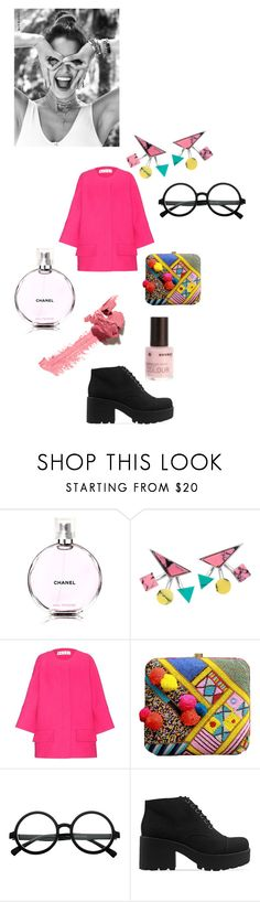 """""""Untitled #1255"""" by kajdie ❤ liked on Polyvore featuring Chanel, Eshvi, Marni, Vagabond and Korres"""