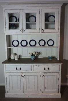 Buffet Hutch Sideboard Hampton s Style French Provincial Industrial Shabby Chic
