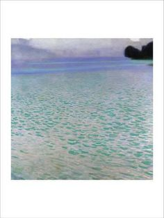 Attersee Giclee Print by Gustav Klimt - at AllPosters.com.au