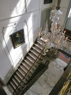 The interior of the Van Loon house is also quite lush, with a grand staircase, marble floors and ornate stuccoed walls and ceilings. Follow this link to see more pics of the Museum van Loon.    http://mikestravelguide.com/things-to-do-in-amsterdam-museum-van-loon/