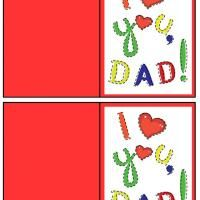 This I Heart You Dad Gift Card is a free image for you to print out. Check out our Free Printable Gift Cards today and get to customizing! Happy Fathers Day Cards, Printable Gift Cards, Gifts For Dad, My Heart, Free Printables, Daddy, Dad Gifts, Daddy Gifts, Free Printable