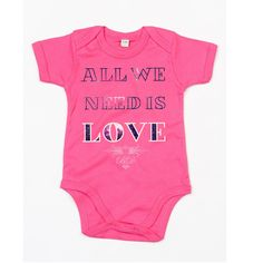 All We Need Is Love babysuit