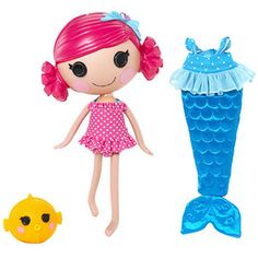 Lalaloopsy Mermaid...Katie saw this on TV and said she wanted it.  I said we'd start a birthday list.
