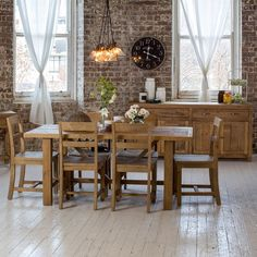 Vintage 1800 Dining Package (Table: 1800W x 900D x 785H mm; Chair: 475W x 500D x 800H mm) RRP $1,459