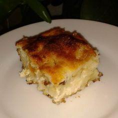 Bögrés túrós sütemény (lusta túrós) Recept képpel - Mindmegette.hu - Receptek Lasagna, Delish, Ethnic Recipes, Food, Baking Ideas, Sweets, Essen, Meals, Yemek