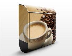 Wand#briefkasten - #Espresso #kaffee #Genuss #coffee #time