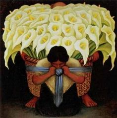Diego Rivera - La porteuse d'arums