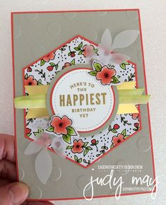 Stampin' Up! Lots of Happy Card Kit - Judy May, Just Judy Designs