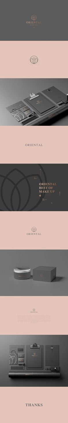 Oriental Makeup and Face Care Branding (unknown designer) | Fivestar Branding Agency – Design and Branding Agency & Curated Inspiration Gallery