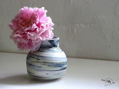 Flowerpot Flower Pots, Flowers, Porcelain, Vase, Ceramics, Handmade, Home Decor, Flower Vases, Ceramica