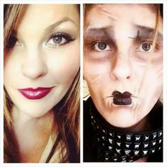 Hope's Beauty Bar: Edward Scissorhands Transformation Tutorial with Special Guest Poster!!!!!!