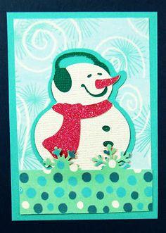 Capadia Designs: Snowmen Artist Trading Cards