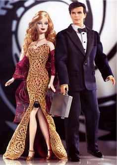 James Bond 007 Barbie giftset