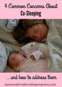 4 common concerns about co-sleeping and how to address them   www.modernalternativepregnancy.com
