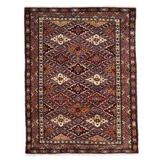 "Shirvan Collection Oriental Rug, 3'4"" x 4'4"""