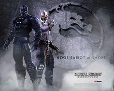 Noob Saibot & Smoke - mortal-kombat Wallpaper