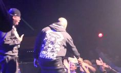 """Tech N9ne and Krizz Kaliko surprised fans during a recent stop in Toronto on Big K.R.I.T.'s Live From The Underground Tour, as Slim Thug brought the duo out for a quick appearance on stage following a performance of his smash hit, """"Still Tippin'"""".    Later the same night, Krizz Kaliko would fuel speculation of a collaboration with Big K.R.I.T., who appeared alongside Tech N9ne in the 2011 BET Hip Hop Awards Cypher."""